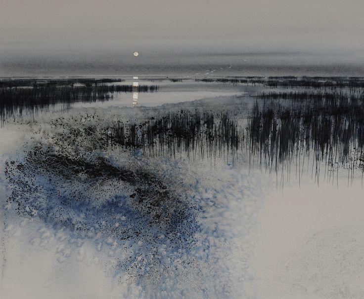 Marsh-Moon.  Naomi Tydeman