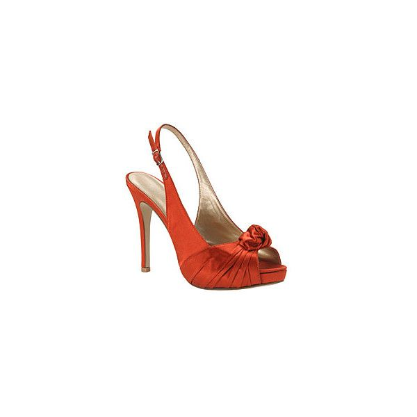 Burnt Orange Shoes found on Polyvore