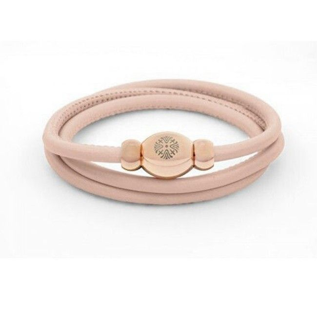 Bracciale Pelle Tender Qudo collection rosa