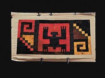 EE. UU. devuelve a Perú 14 piezas de arte precolombino Indian Patterns, Paperclay, African Design, Chevrolet Logo, Peru, Mexico, My Arts, Textiles, Draw