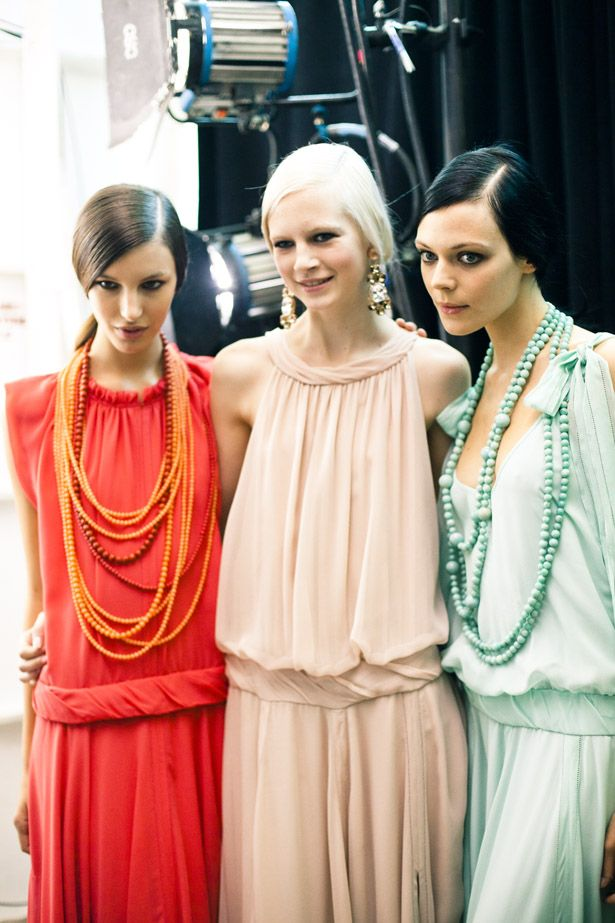 colors | tory burch spring 2012. gorgeous, gorgeous. and 20s style.