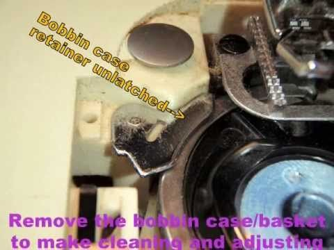 how to adjust bobbin tension on a singer sewing machine