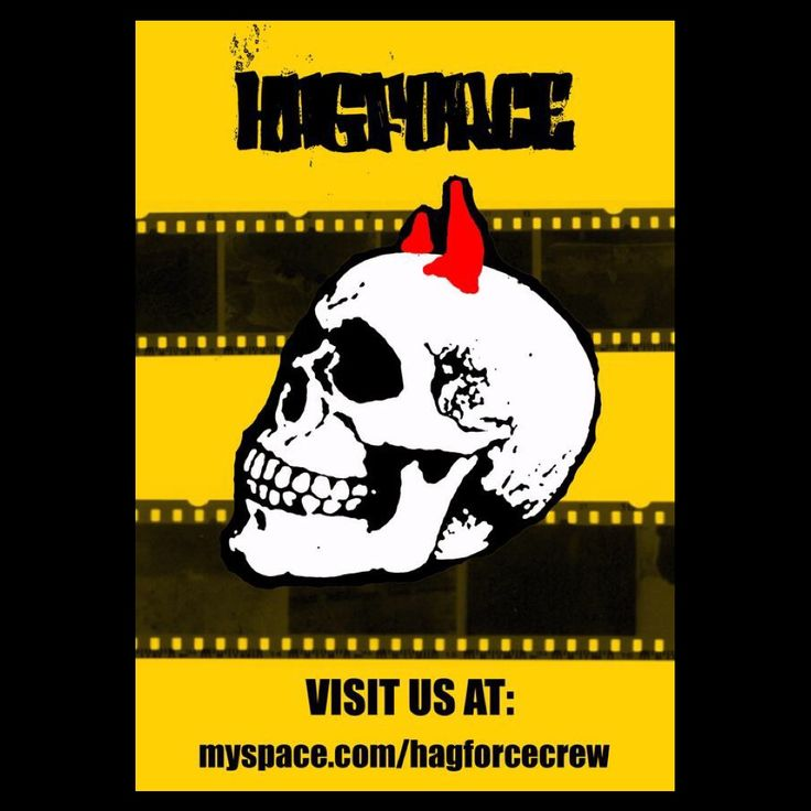 Old Myspace-page profile picture for Hagforce crew. #hagforce