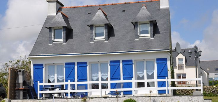 Anreise/ Route berechnen - Ferienhaus Kerblue in Plozevet/Frankreich/Bretagne/Finistere mit Meerblick für Familien mit Kindern und Hunden