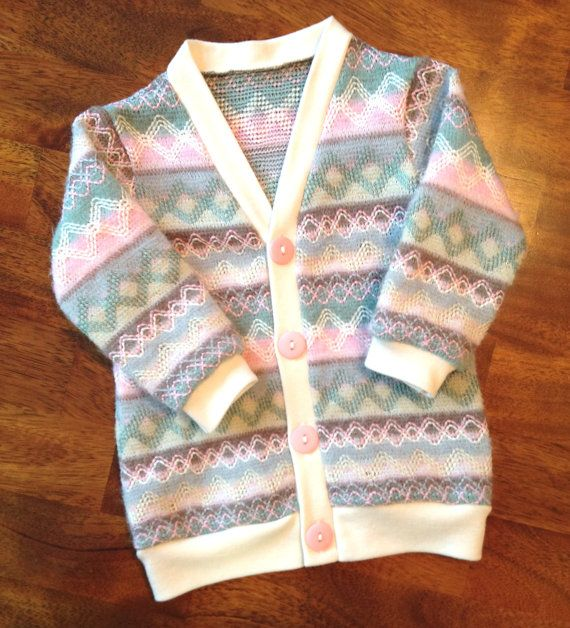 Pink and Brown Cardigan Baby Cardigan Toddler Cardigan by ColbyAve
