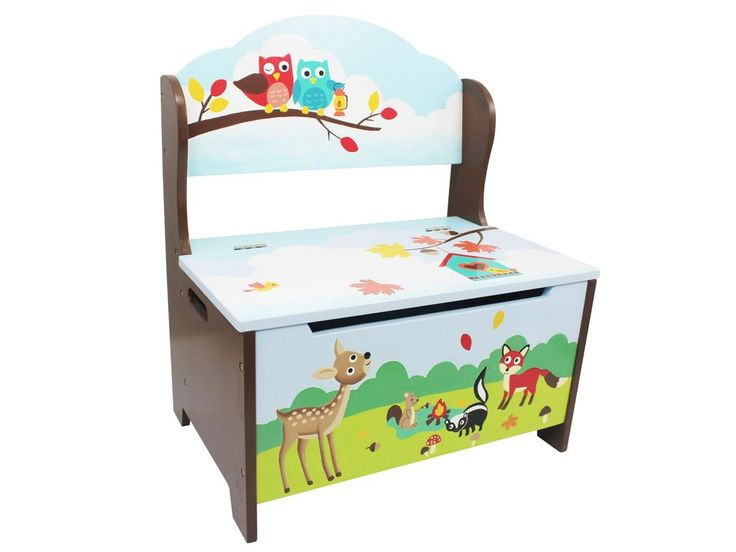 Fantasy Fields Enchanted Woodland Storage Bench OLD