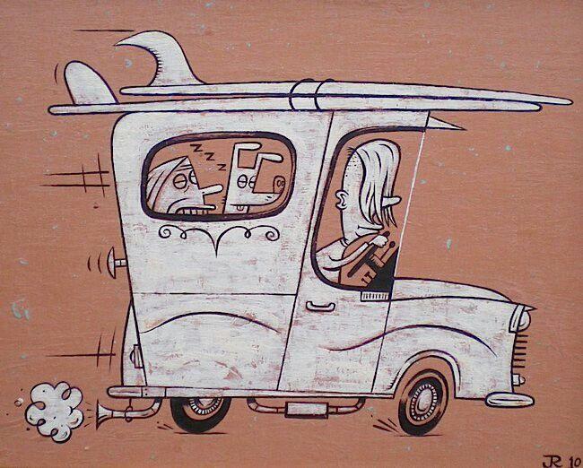 Surfari (artist: Jeff Raglus)