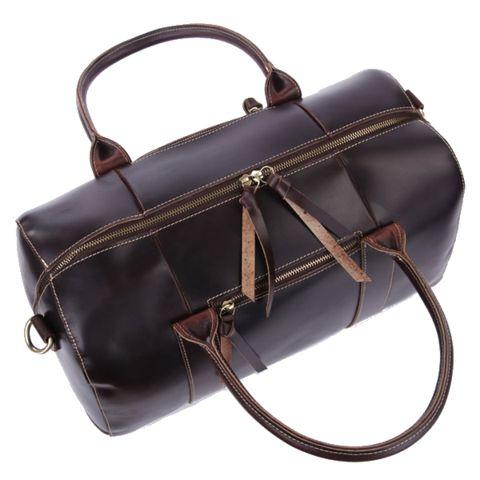 Melinka - Men's leather travel bag
