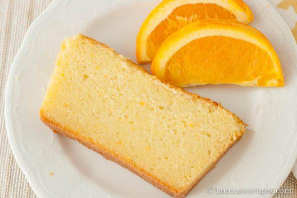 Orange Ricotta Pound Cake