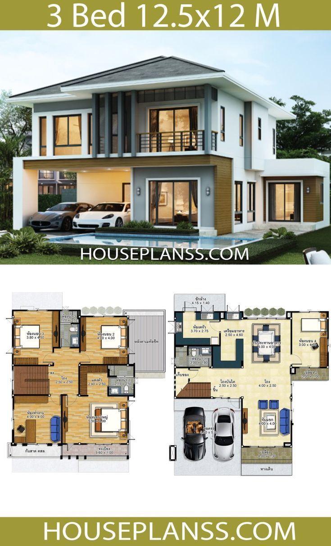 Modern House Plans 2020 In 2020 Model House Plan Craftsman House Plans House Plans Farmhouse