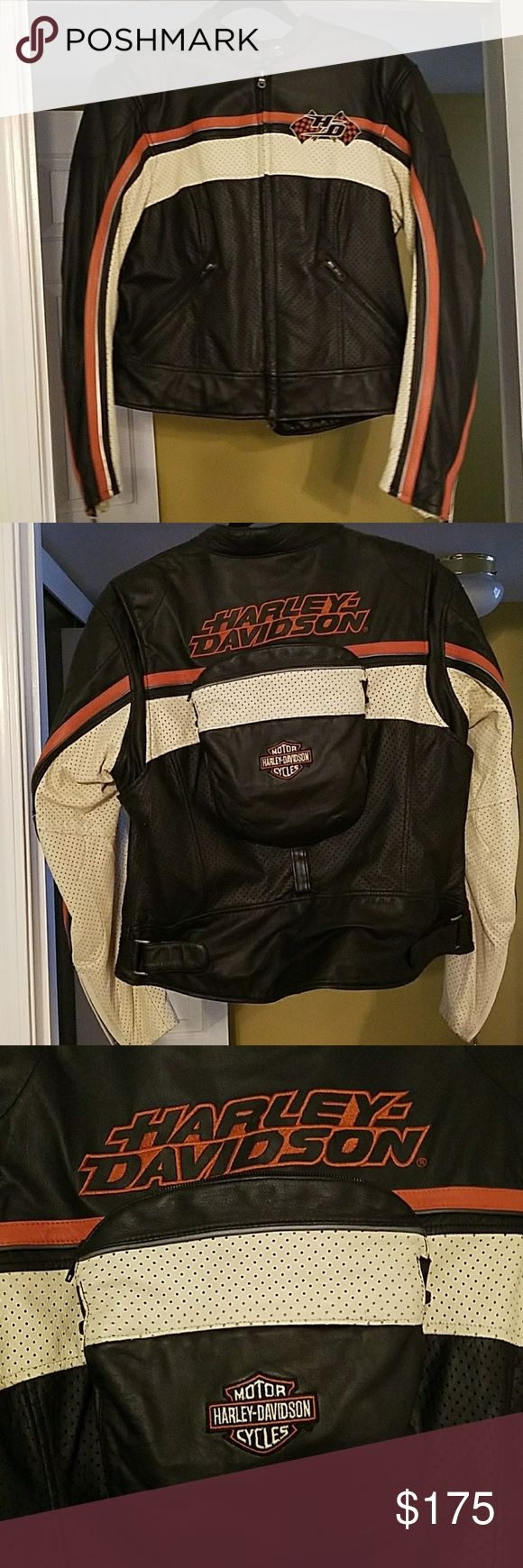 Selling this HARLEY Davidson leather jacket & purse on Poshmark! My username is: neki_oj. #shopmycloset #poshmark #fashion #shopping #style #forsale #Harley-Davidson #Jackets & Blazers
