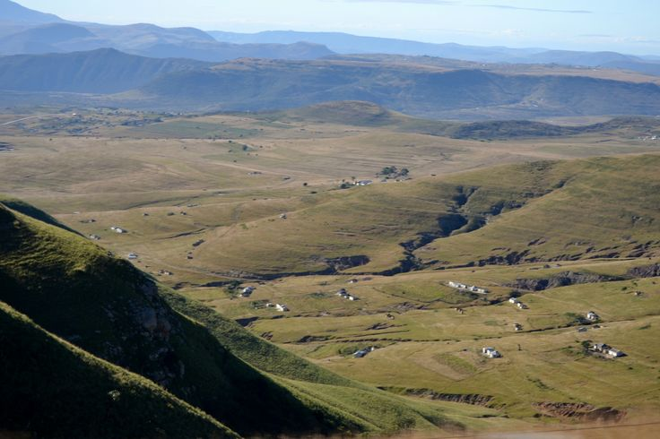 On the way to Graaff-Reinet. Stayed just outside Mthatha in Eastern Cape.