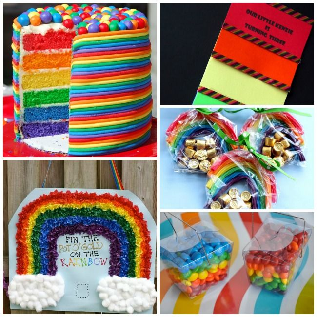 25 Rainbow Crafts, Activities and Eats