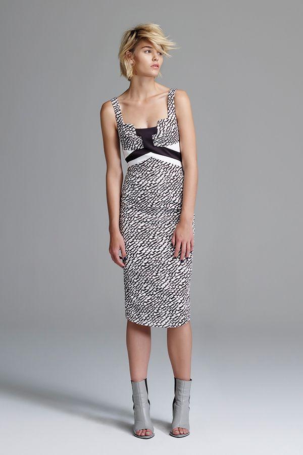 Triangularity Column Dress