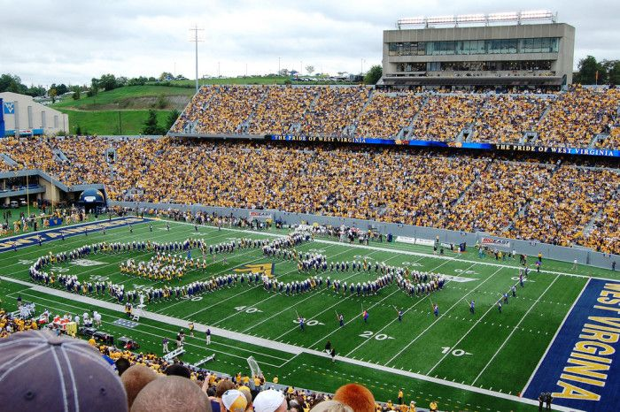 """7) The West Virginia University Marching band is nicknamed the """"Pride of West Virginia."""""""