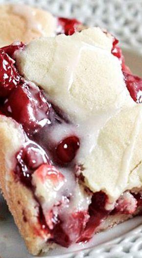 Sweet Cherry Pie Bars