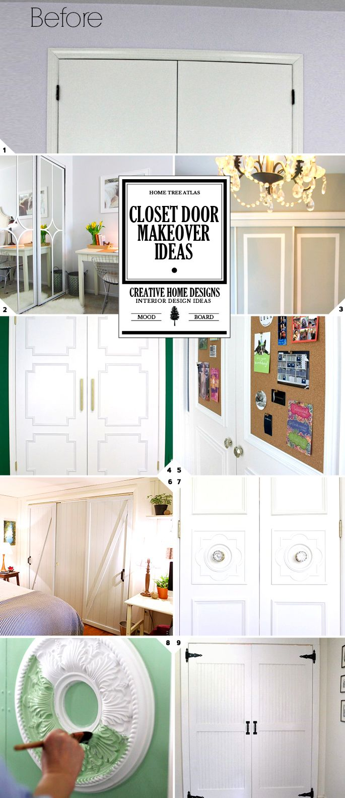 If you think about it, your closet doors take up a lot of 'visual space' in your bedroom. This means that the style and design of them really impacts the style of the space. And it doesn't take much to completely change the look and feel of them. Here is a list of DIY closet […]