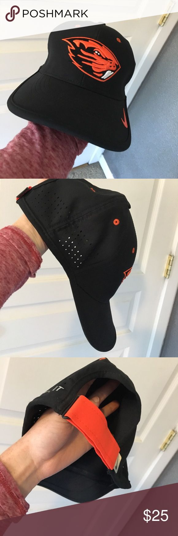 OSU Nike Dryfit Hat. Brand: Nike. Color: Black & Orange Beaver. Perfect for fans and game days! Go beavs!!!! Dry fit material. Waterproof. Super light, soft and comfortable. Baseball hat style. Nike Accessories Hats