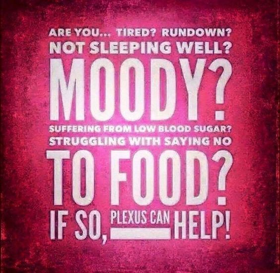 Plexus has helped me and Plexus can help you, too!!! These amazing products help with weight loss, lack of energy, poor mood or bad mood, sugar cravings, lack of sleep, and so much more!! I can help you improve your overall health! Email me at tina.weeks.66@gmail.com for more information!!