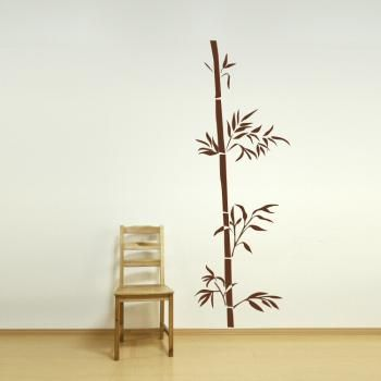 Chinese Tree Drawings | Chinese bamboo tree branch Large Vinyl wall art sticker ch15