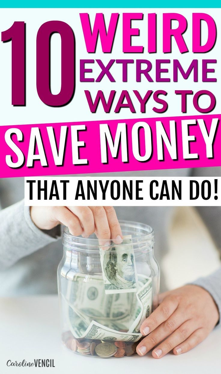 These are such great ideas!! You NEED to check out these crazy ways to save money! But they aren't too weird. They are all really great ideas for places that you'd never thought of to save money! Great frugal living tips and tricks to try out for yourself today! 10 Weird Ways to Save Money
