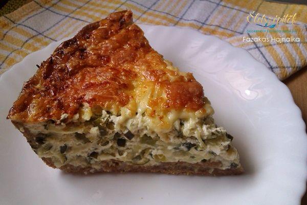 Így készül a zöld quiche, a francia pite | Életszépítők