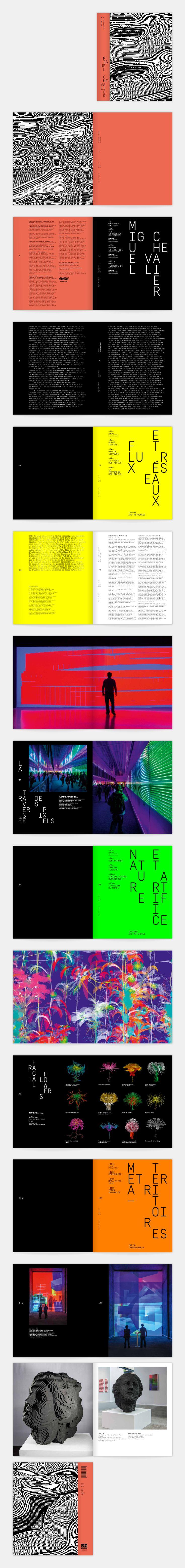 Miguel Chevalier's  portfolio — Trafik.fr
