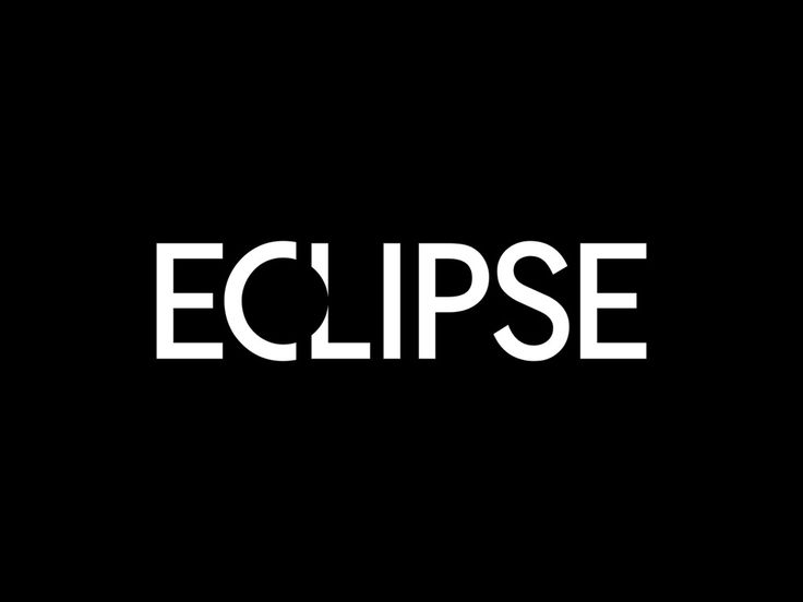 """Clipping out some of the """"L"""" to make the white space look like an eclipse."""