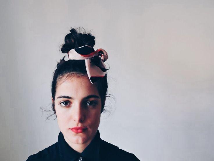 AH/OK Nina silk headband
