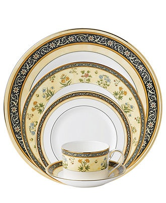 Wedgwood Dinnerware, India Collection: 5 Pieces Places, Fine China, 5Piec Places, Registry Ideas, India Collection, China Places, China Dinnerware, Places Sets, Wedgwood Dinnerware