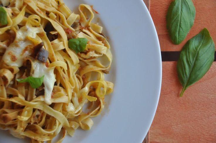 Pasta con berenjena (gratinada) - https://www.thermorecetas.com/pasta-con-berenjena-gratinada/