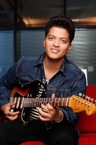 Bruno Mars. He's simply untouchable. Which is a shame, because look at him. Jesus.