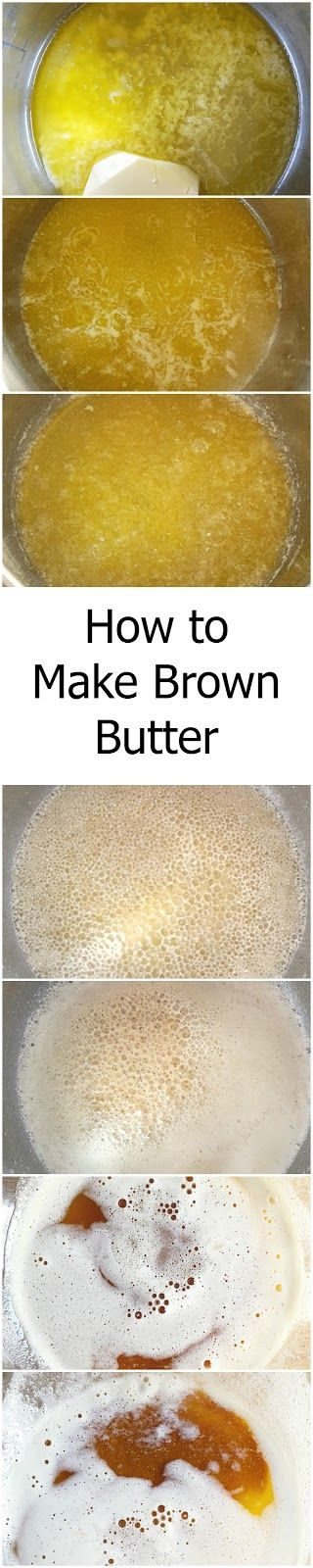 How to Make Brown Butter #tutorial includes step by step pictures