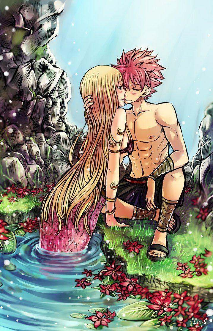 Natsu x lucy mermaid by leons 7 on deviantart nalu - Fairy tail natsu x lucy ...
