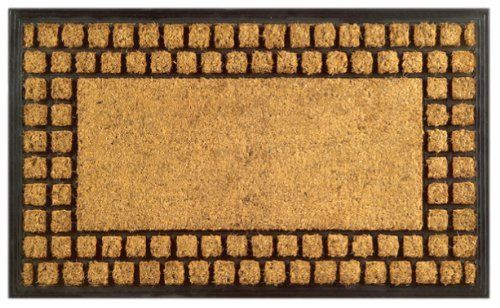 how to clean coir mats