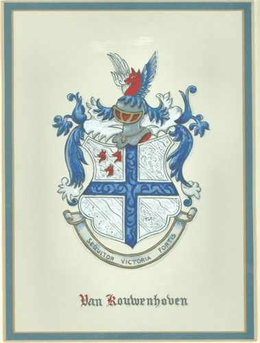 Van Kouwenhoven Coat Of Arms My Dutch Ancestry