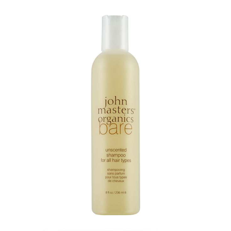 John Masters Organics Bare Unscented Shampoo 236ml - feelunique.com
