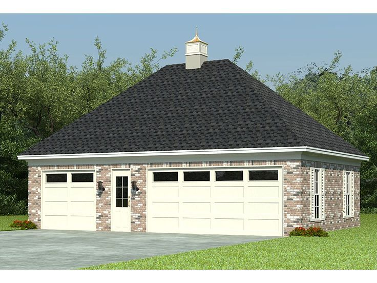 155 best 3Car Garage Plans images – 3 Bay Garage Plans