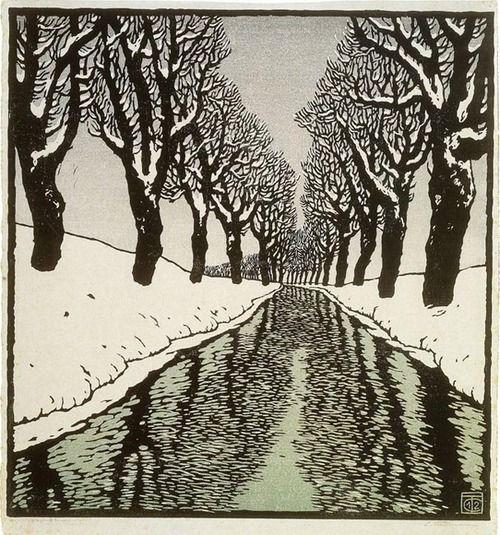 Bach im Winter II - Carl Theodor Thiemann (1912)