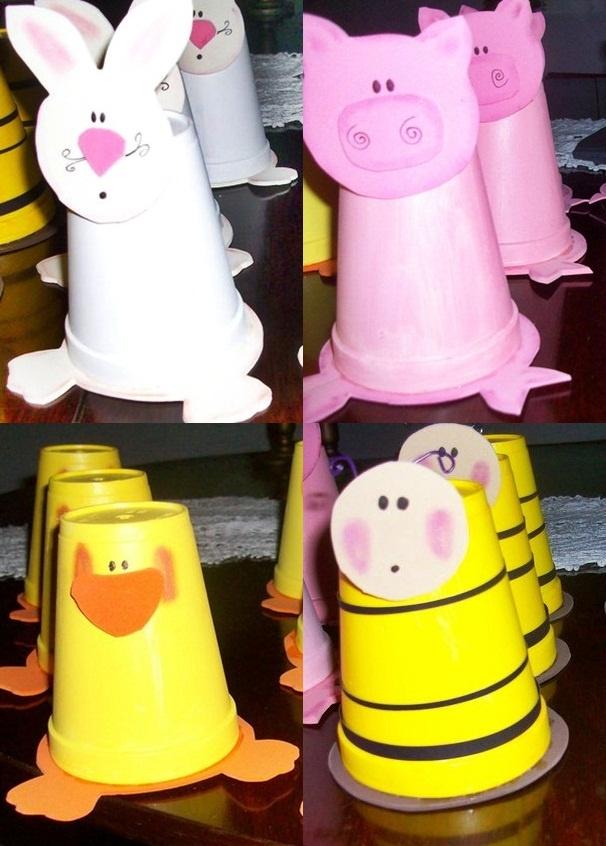 41 best images about con vasos on pinterest navidad - Manualidades con vasos ...