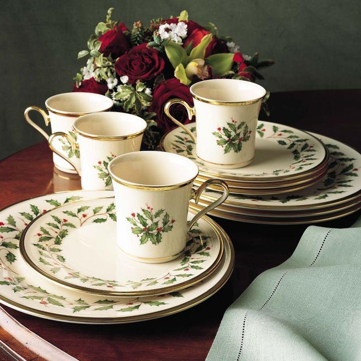 17 best ideas about christmas dinnerware sets on pinterest. Black Bedroom Furniture Sets. Home Design Ideas