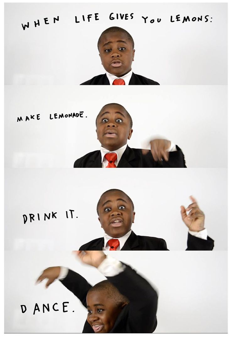 Lemonade = dancing.