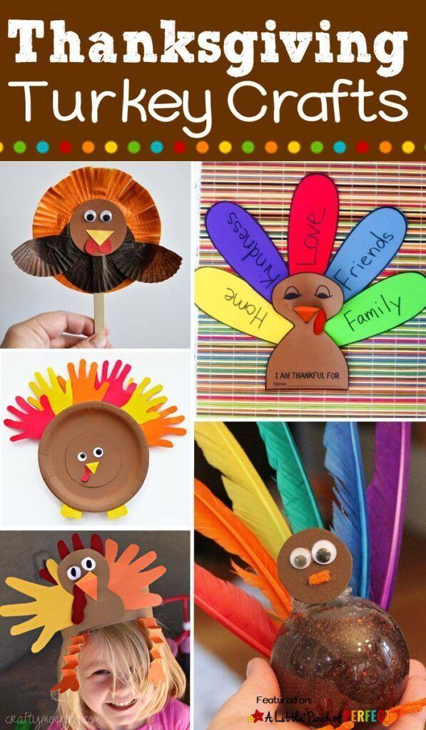 17 Top Thanksgiving Turkey Crafts For Kids Thanksgiving Turkey