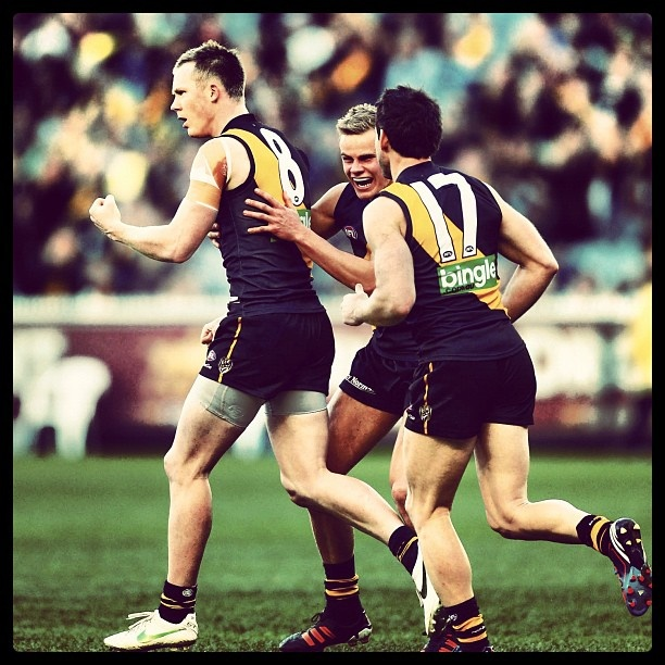 Tiger Jack Riewoldt wins the 2012 Coleman Medal