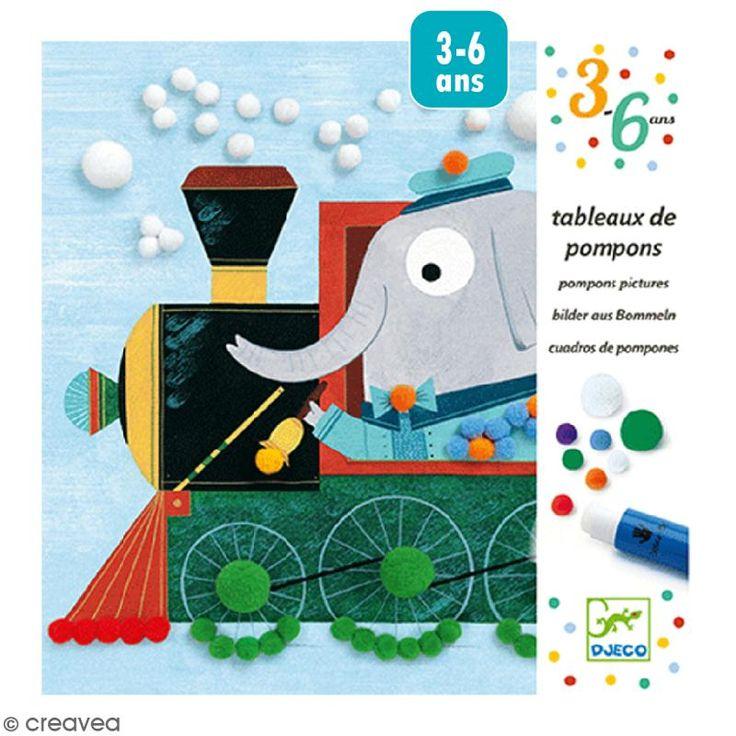 Compra nuestros productos a precios mini Cuadro de pompones - De paseo - Entrega rápida, gratuita a partir de 89 € !