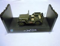 Rare Willys MB Jeep 1/43 CJ2A Special Edition Diecast Daimler Chrysler Schuco