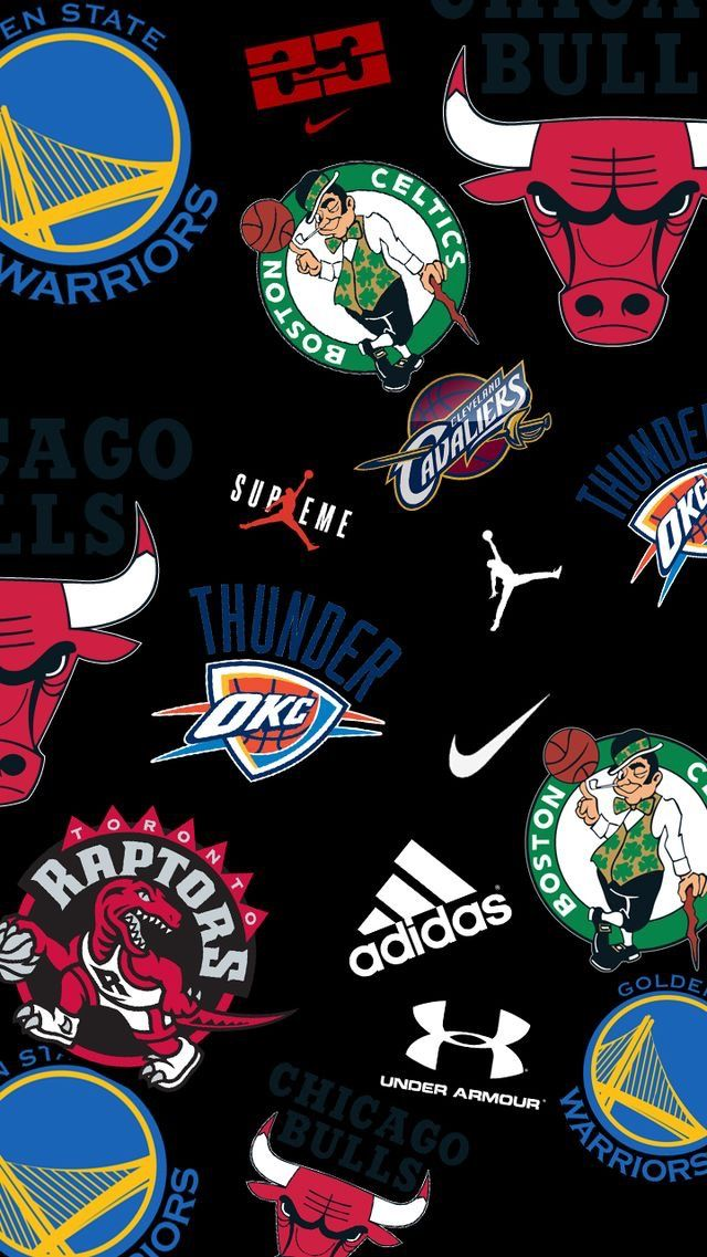 Pin By Kidnick Lamar On Nba Wallpapers Jordan Logo Wallpaper Nike Wallpaper Hypebeast Wallpaper Iphone supreme basketball wallpaper