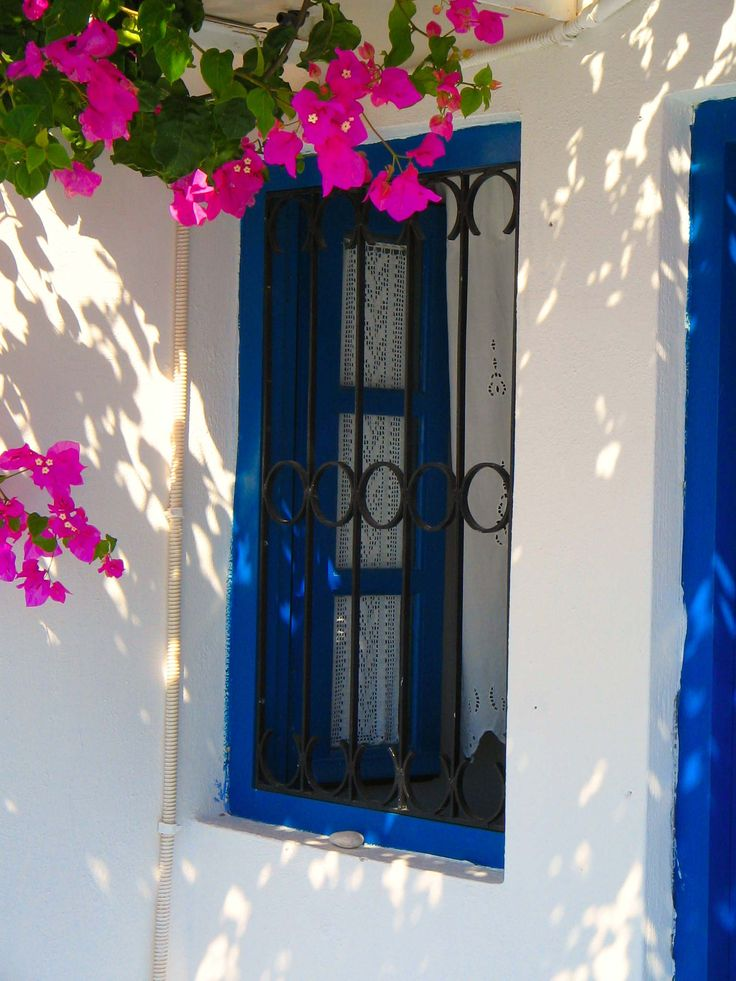 Santorini and its windows