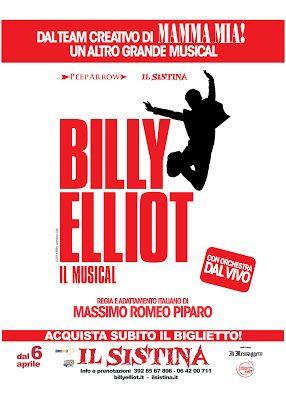 BILLY ELLIOT RITORNA AL SISTINA