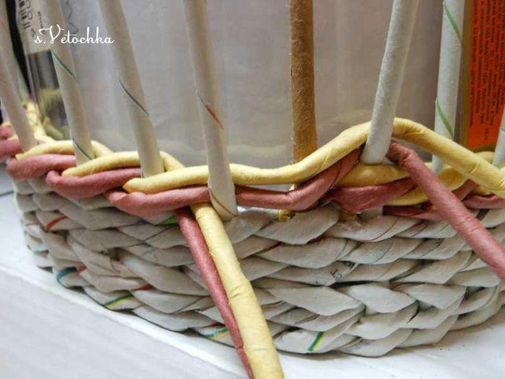 Тема: Мастерская Веточки (165/305) - Плетение из газет и другие рукоделия - Плетение из газет